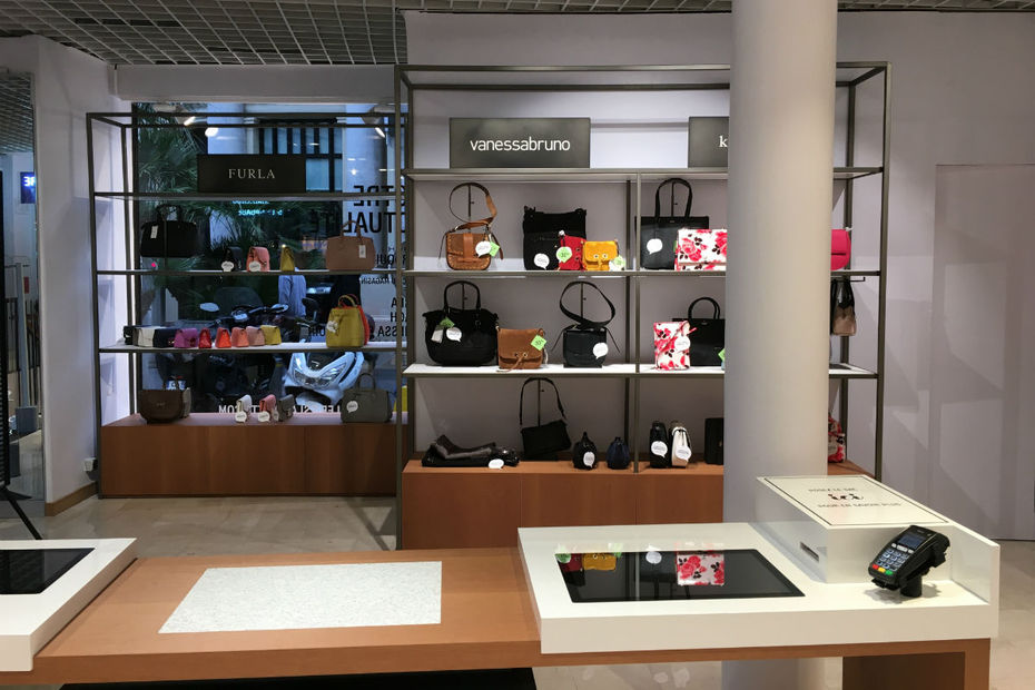 Showroom Digital Galeries Lafayette à Cannes