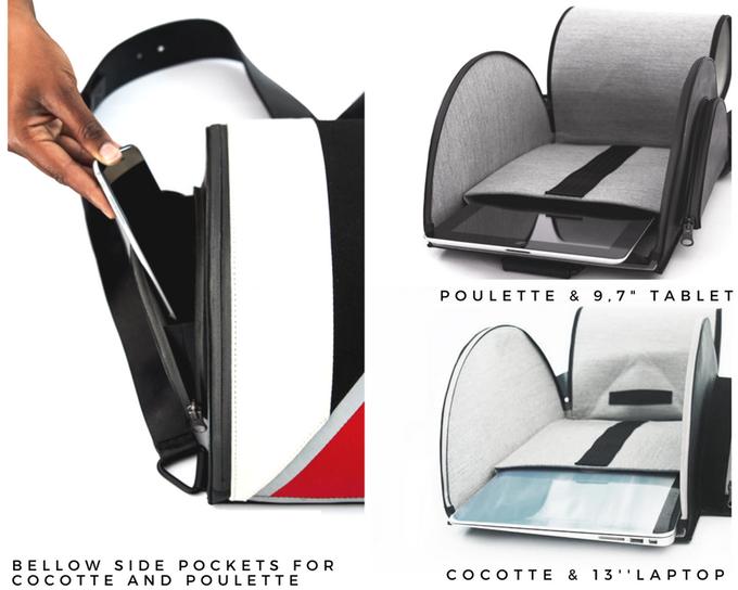 Les sacs Poulette et Cocotte de Soundary Cycle