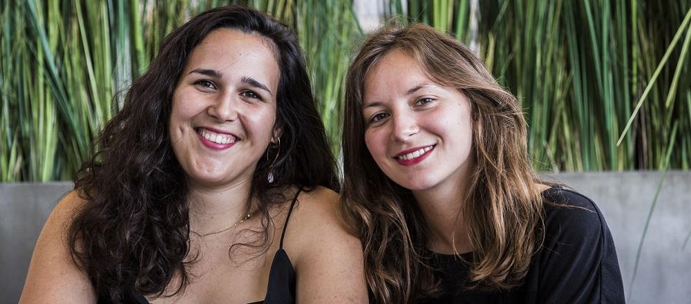 Sarah et Claire de Loupilou